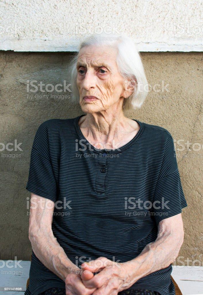 Grandma Stock Image : grandma, stock, image, Portrait, Ninety, Years, Grandma, Stock, Photo, Download, Image, IStock