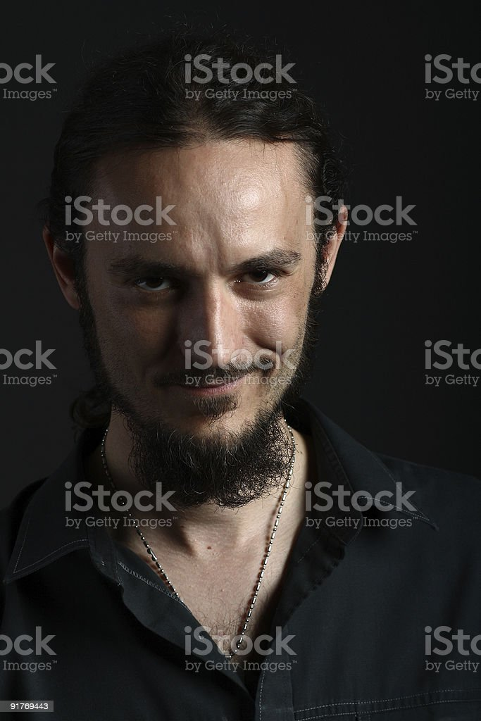 forehead vein stock photos
