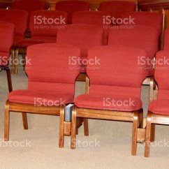 Wooden Church Choir Chairs Recliner Chair Covers Uk Red Of The Stock Photo More Pictures Istock Royalty Free