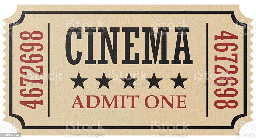 best movie ticket stock