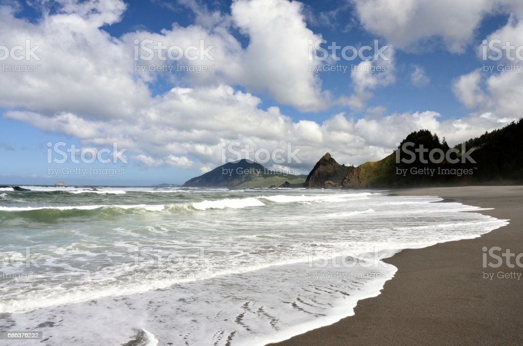 It is administered by the oregon parks and recreation department. Retz Creek Beach Humbug Mountain State Park Curry County Oregon Stock Photo Download Image Now Istock