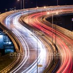 Road Car Light Streaks Night Light Painting Stripes Long Exposure Photography Stock Photo Download Image Now Istock