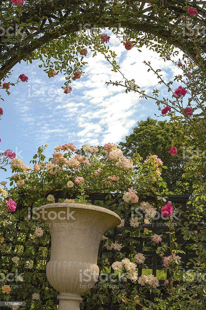 L Hay Les Roses Roseraie : roses, roseraie, Garden, Stock, Photo, Download, Image, IStock