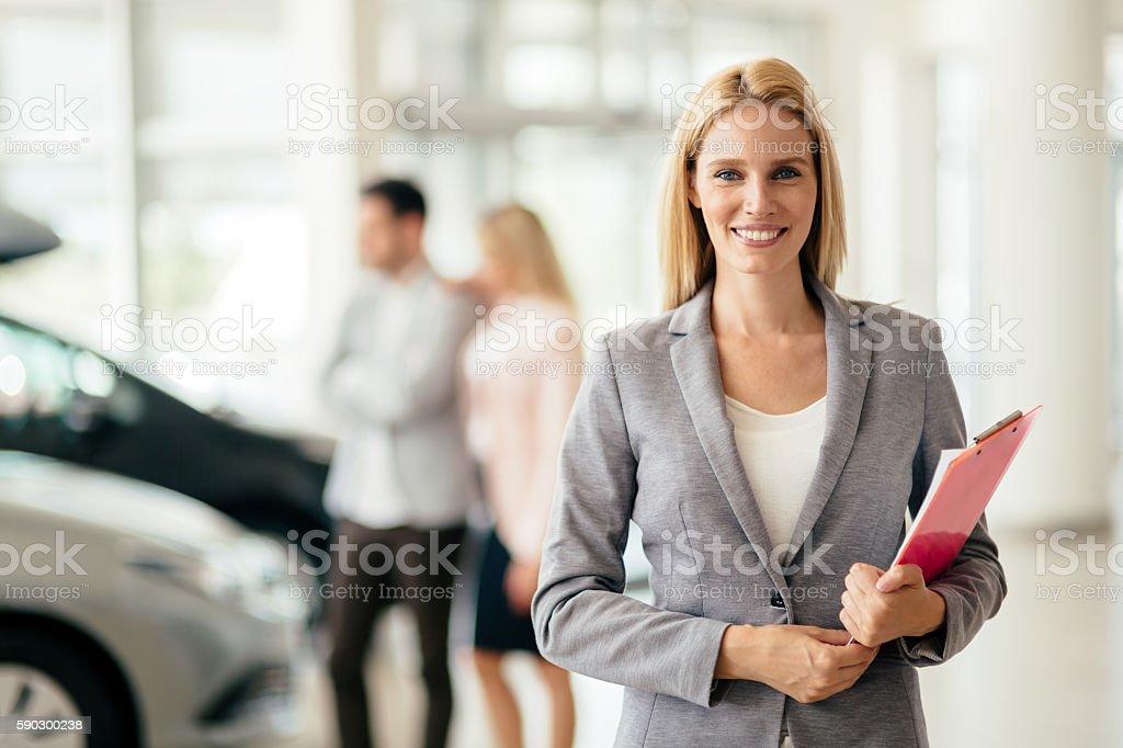 best sales woman stock