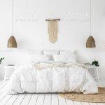 Scandiboho Stil Schlafzimmer Stockfoto Und Mehr Bilder Von Architektur Istock