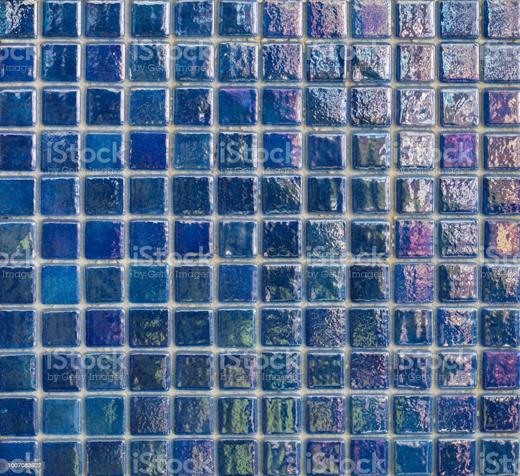 seamless blue mosaic tile for kitchen and pool stock photo download image now istock