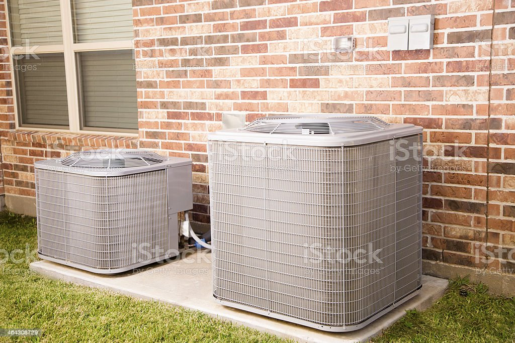 Home Air Conditioner Outside Unit