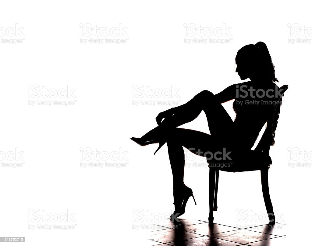 on chair dance clear computer royalty free pictures images and stock photos istock sexy silhouette photo
