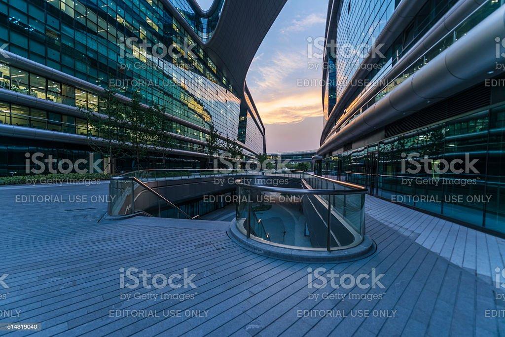 Shanghai Hongqiao Sky Soho Building Stock Photo - Download Image Now - iStock