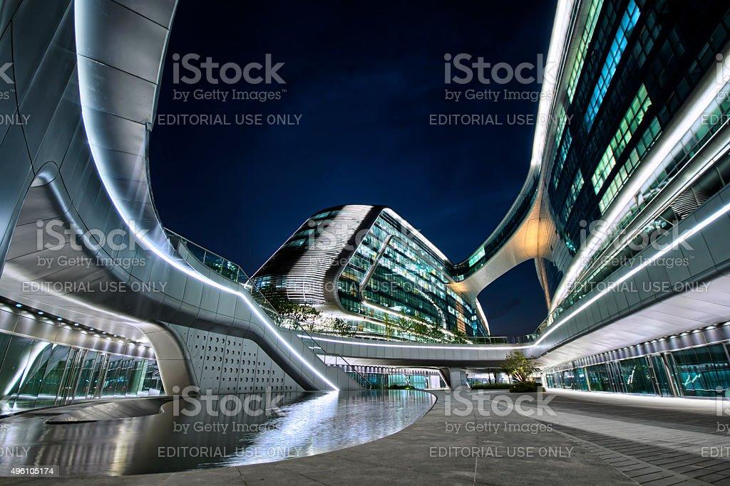 Shanghai Hongqiao Sky Soho Stock Photo - Download Image Now - iStock