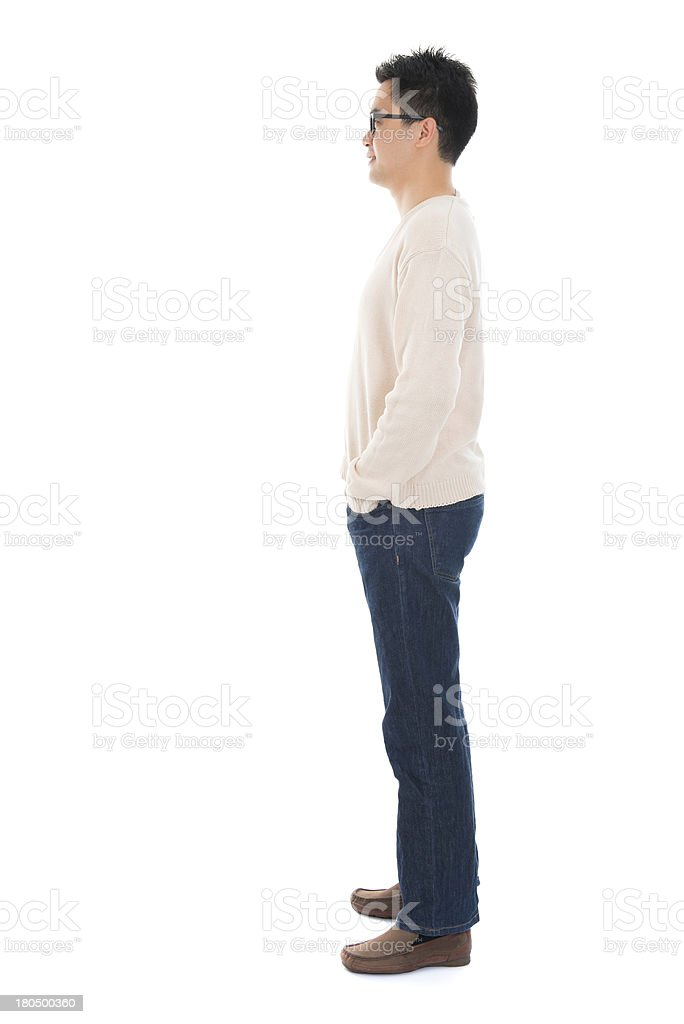 Body Side View : Casual, Asian, Stock, Photo, Download, Image, IStock