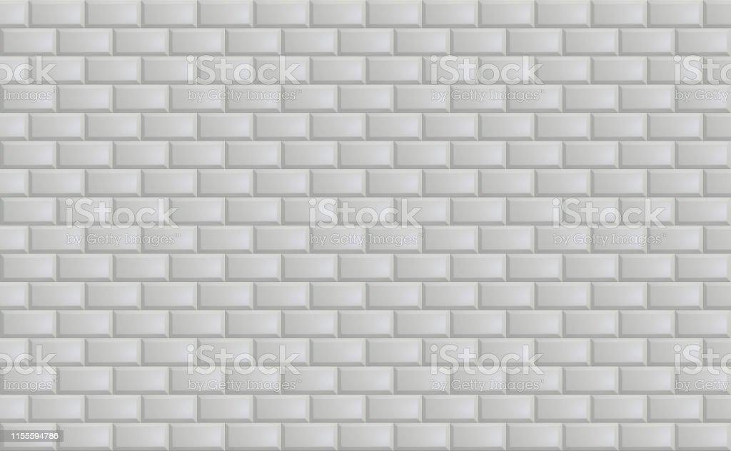 photo libre de droit de fond de texture de carreaux de mosaique en ceramique grise simple carreaux de metro blanc horizontal longue image large banque d images et plus d images libres de droit