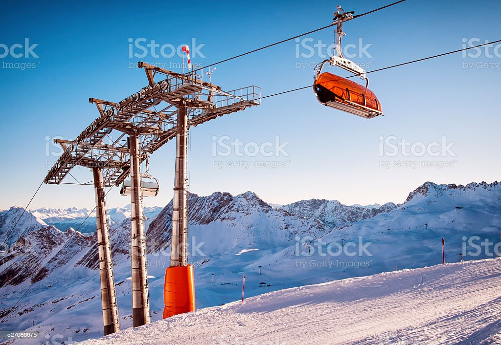 buy ski lift chair eames herman miller stock photo more pictures of austria istock image
