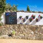 Spanish Fish Menu Outdoor Of Restaurant Stock Photo Download Image Now Istock
