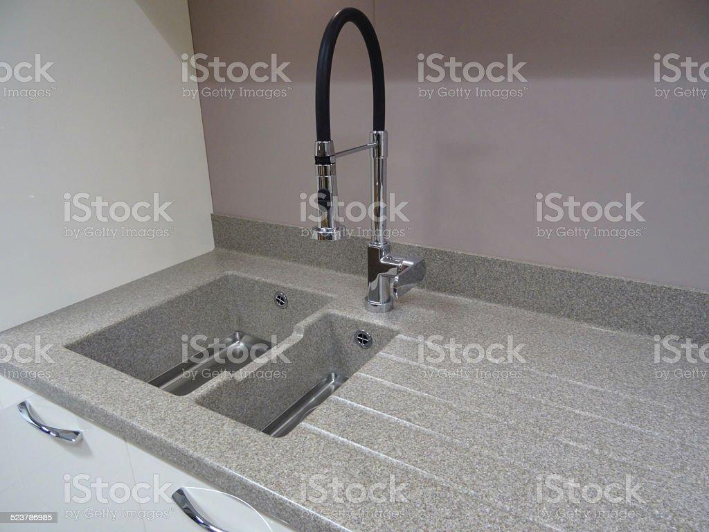 Stainlesssteel Kitchen Sink Single Basin Compositelaminate