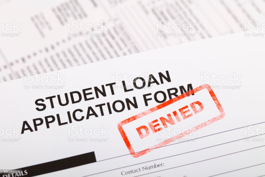 Students Loan Application Form. Student Loan Application Form Stock ...