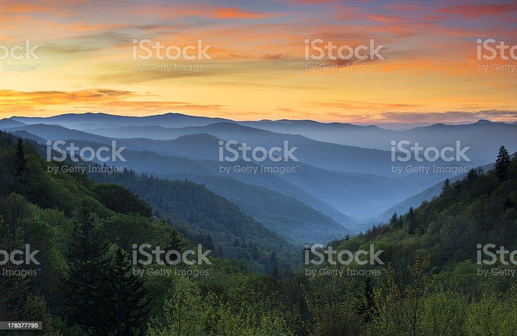 best appalachian mountains stock