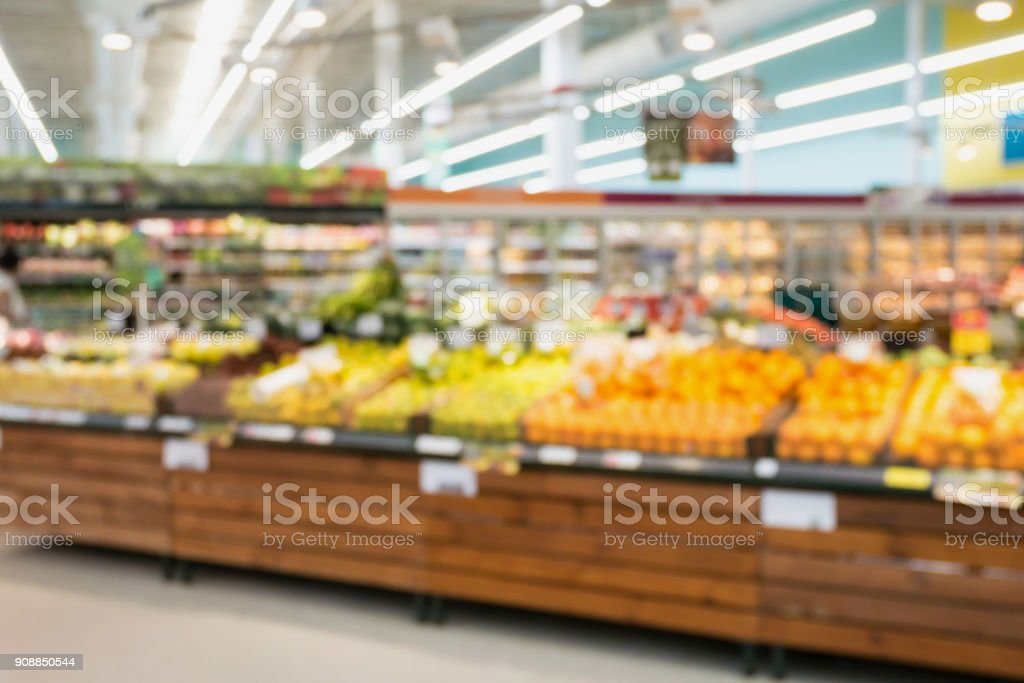 supermarket grocery store with