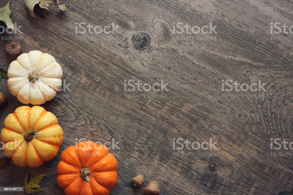 Fall Leaves And Pumpkins Wallpaper Best Thanksgiving Background Stock Photos Pictures