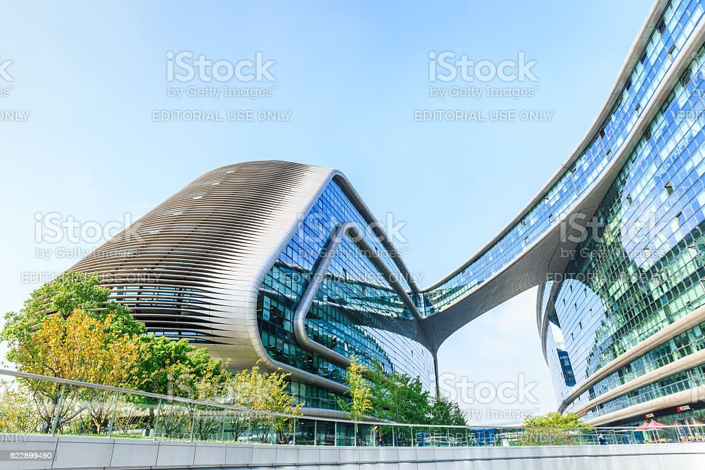 Sky Soho Shanghai Stock Photos. Pictures & Royalty-Free Images - iStock