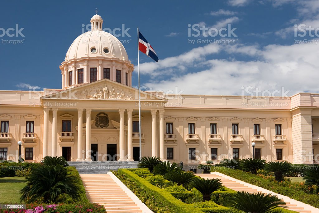 Famous Dominican Republic National Palace