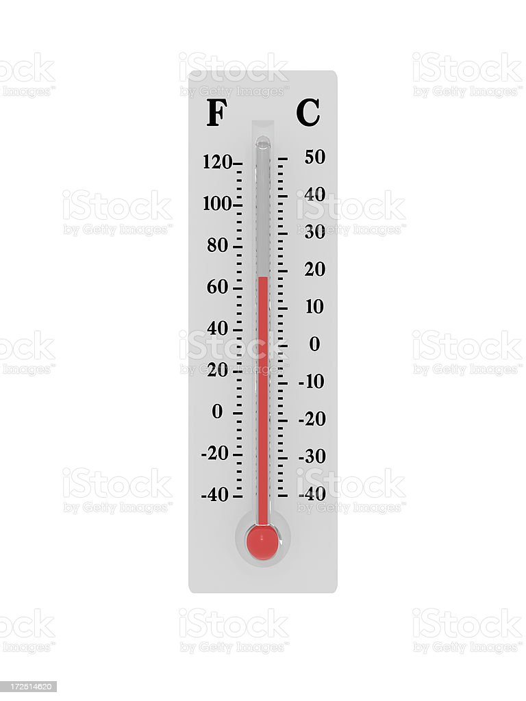 Thermometer Room Temperature stock photo 172514620  iStock