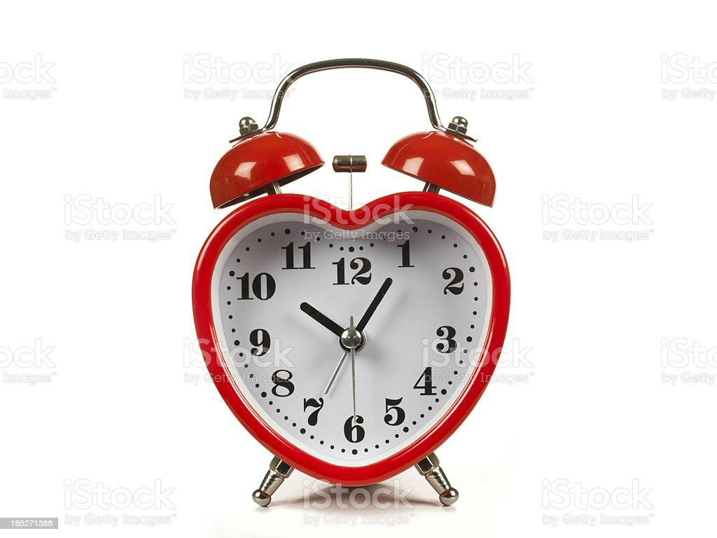 best heart shaped clock