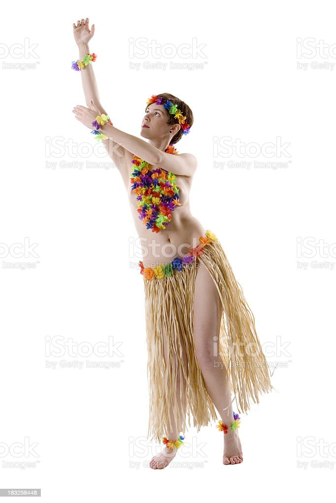 Topless Hula Girl 2 Stock Photo  More Pictures of Adult  iStock