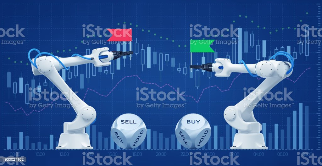 trading robots on stock