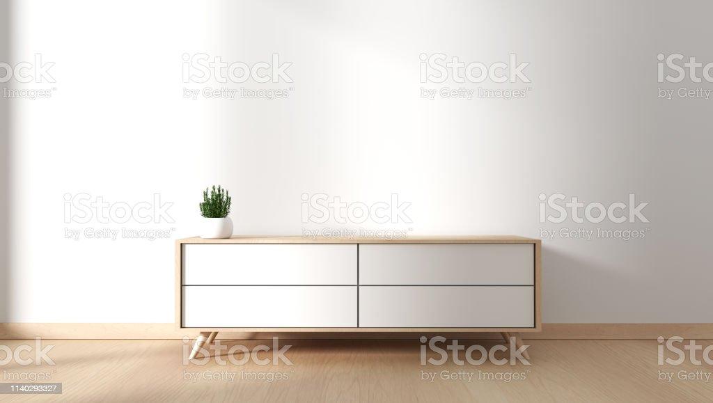 https www istockphoto com fr photo meuble tv dans salle vide moderne japonais style zen designs minimaux rendu 3d gm1140293327 305084168
