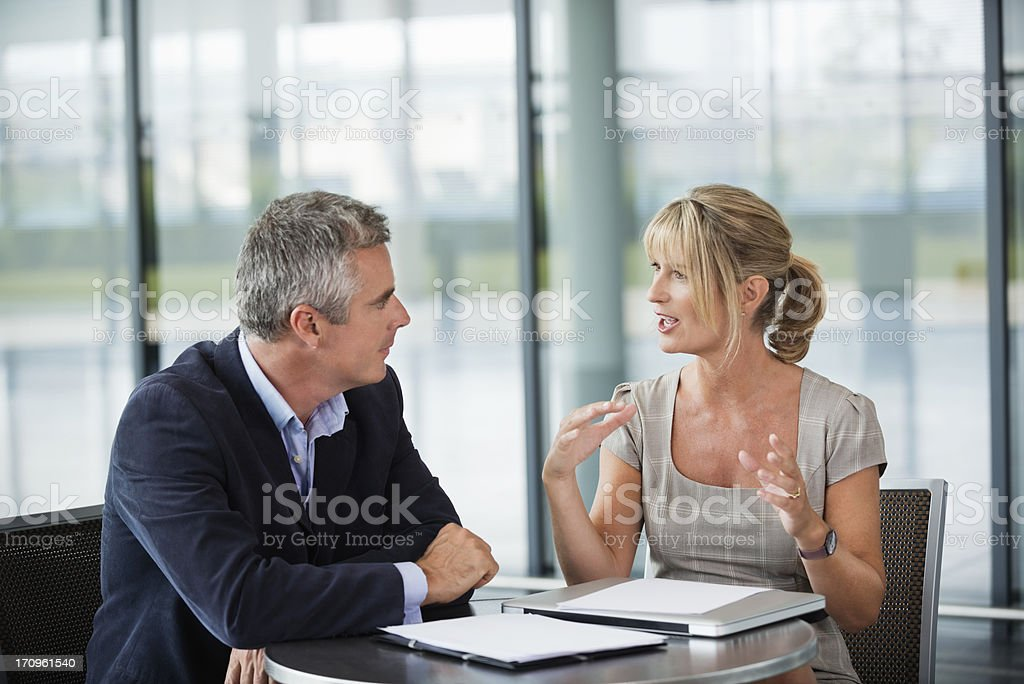 Two People Talking Pictures Images and Stock Photos  iStock