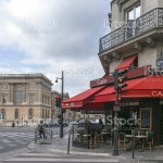 Typical Cafe Shop In Paris Stock Photo Download Image Now Istock