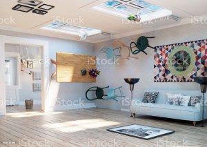 upside down interior royalty illustration illustrations clip strange concept idea creative 3d vector similar