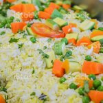 Vegetable Fried Rice At A Chinese Restaurant Buffet Stock Photo Download Image Now Istock