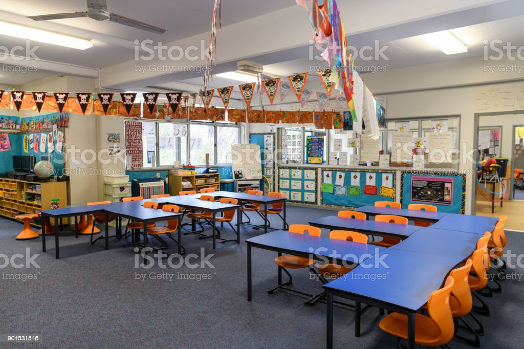 view of classroom interior