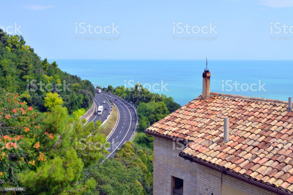 Views Of Grottammare Marche Italy Stock Photo Download