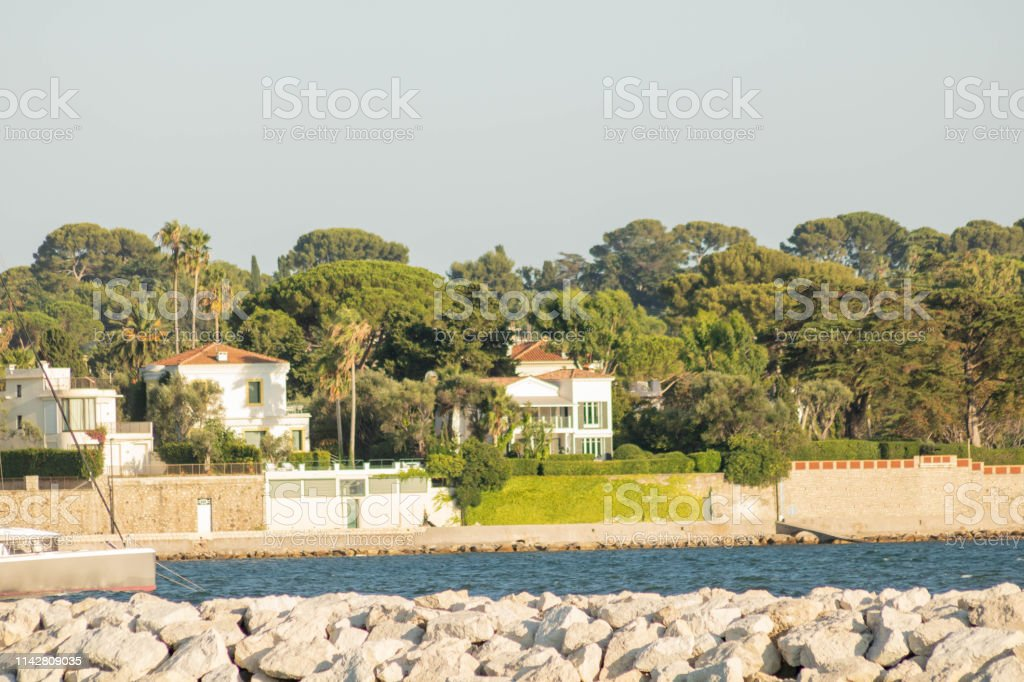 Villa In Cap Dantibes Provence French Riviera France Seen