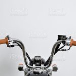 Vintage Mini Motorcycle Handlebars Stock Photo Download Image Now Istock