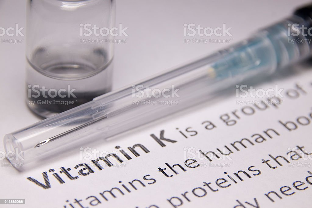 Vitamin K Injection Stock Photo - Download Image Now - iStock