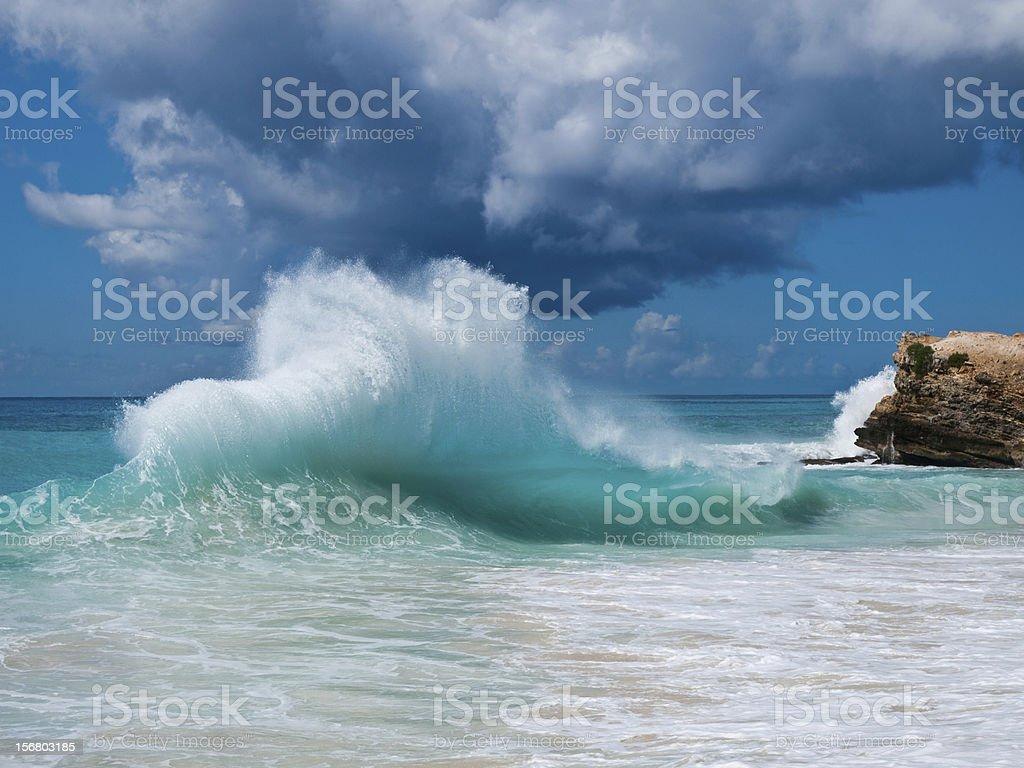 wave at mullet bay