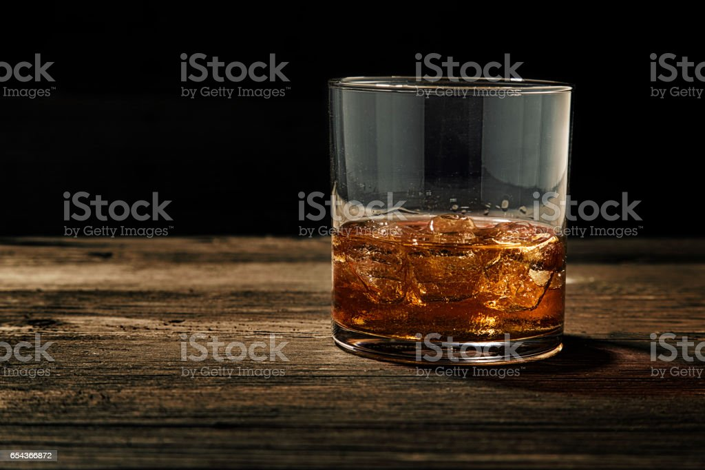 Whiskey On The Rocks Stock Photo - Download Image Now - iStock