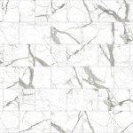 White And Black Marble Mosaic Tiles Texture Background Rectangle Marble Tiles With Natural Pattern Stock Photo Download Image Now Istock