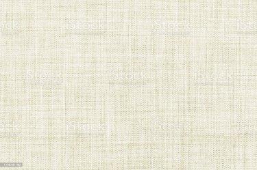 Textura De Lino Transparente De Color Blanco O Fondo De Tela Foto de stock y más banco de imágenes de Abstracto iStock