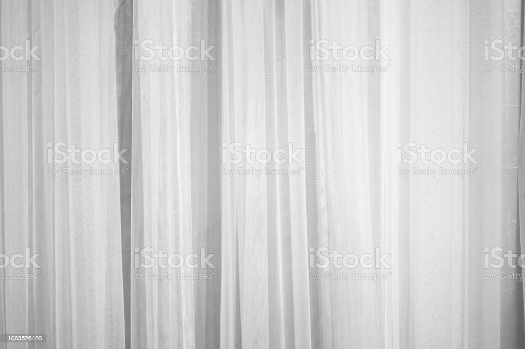 white curtain fabric pattern surface texture closeup of interior material for design decoration background stock photo download image now istock