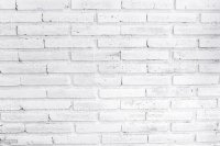 White Painted Brick Wall stock photo 498308718 | iStock