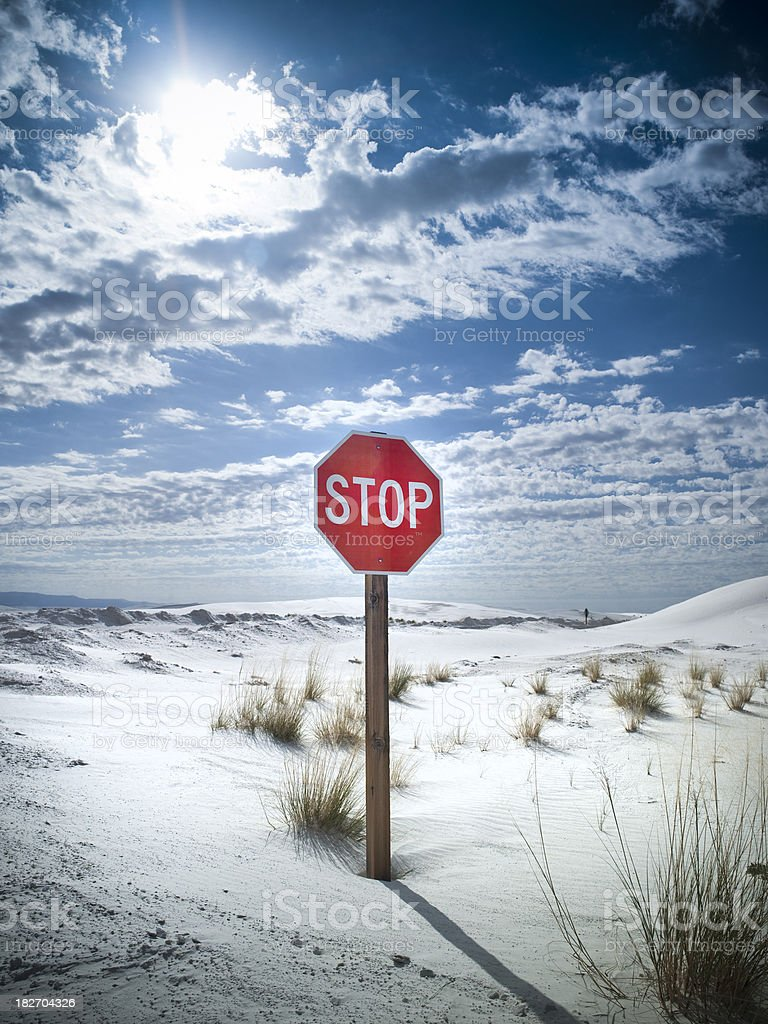 The Middle Of Nowhere New Mexico : middle, nowhere, mexico, White, Sands, Mexico, Stock, Photo, Download, Image, IStock