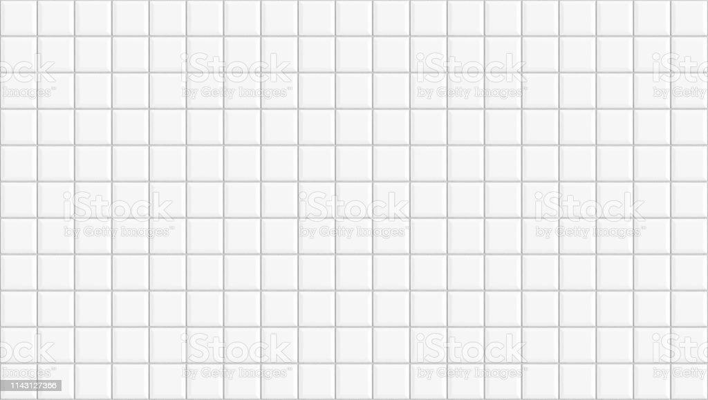 white square ceramic tiles texture background classic white metro tile horizontal picture stock photo download image now istock