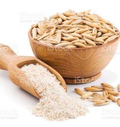 whole grain oat flour isolated on white royalty free stock photo [ 1024 x 800 Pixel ]