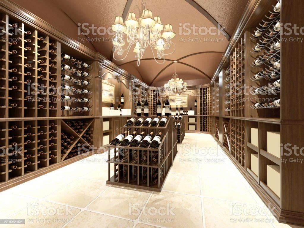 https www istockphoto com fr photo magasin de vins avec un design en bois gm894955496 247353665