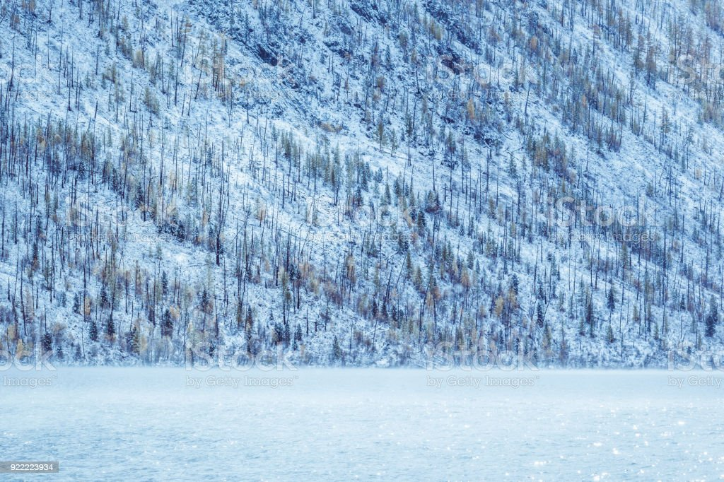 Get the monthly weather forecast for pine mountain lake, ca, including daily high/low, historical averages, to help you plan ahead. Winter Mountain Lake With Snowcovered Pine Trees On The Shore Frosty Weather Fog Over The Winter Lake A Sharp Decrease In Temperature A Number Of Snowcovered Trees On The River Stock Photo